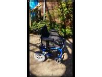 Electric Folding Wheelchair with Dual Control
