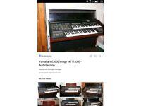 Yamaha MC600 electone keyboard