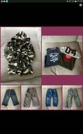 Boys age 18-24 months clothes bundle - 7 items