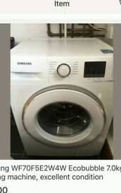 Samsung echo bubble washing machine free delivery and install