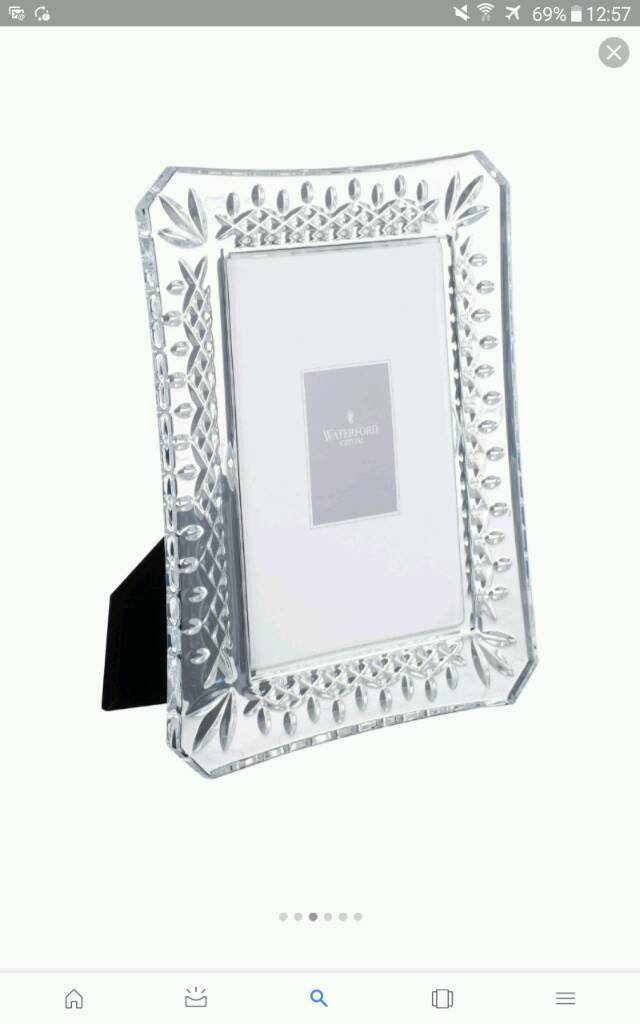 Waterford picture frames x 2 ,Large 8 x 10 | in Darlington, County ...