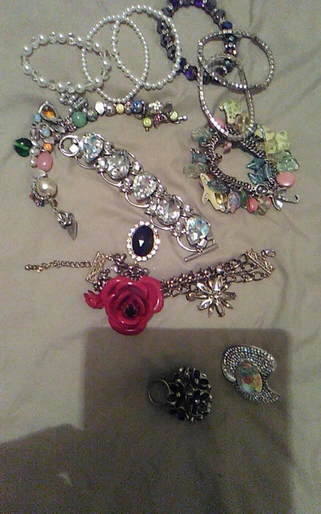 Bangles bracelets and rings