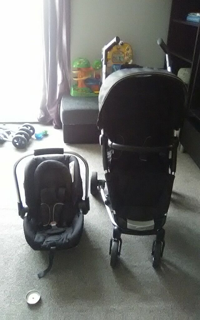 Nyla pushchair with car seat