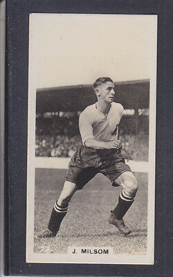 Pattreiouex - Footballers In Action 1934 - # 73 Milsom - Bolton