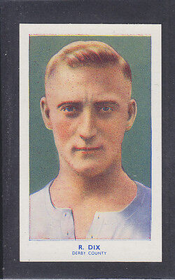 Hill - Famous Footballers (Archer) 1939 # 33 Dix - Derby