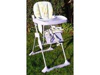Child's High Chair by Mothercare.