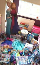 Huge frozen toy bundle