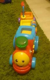 Fisher price laugh and learn puppy's smart train
