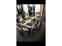 Brand New Dining Table With Chairs In Multiple Colours Order Now