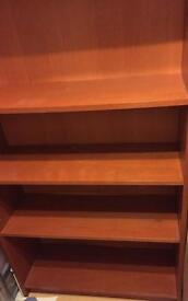 Mahogany Colour Book Shelf