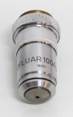 Zeiss Neofluar 100x 1.30 Oel 160- 46 19 20-9903 Microscope Objective 5919