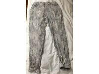 Michael Kors trousers b/w snake print size M
