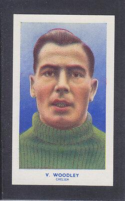 Hill - Famous Footballers (Archer) 1939 # 25 Woodley - Chelsea