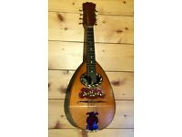 Antique Mandolin, Bowl Back, Built in 1907, Rare