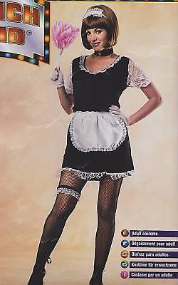 Französisches Dienstmädchen Kostüm Erwachsene Damen Zimmermädchen - Französische Dame Kostüm