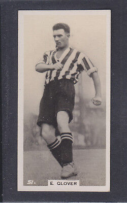 Pattreiouex - Footballers In Action 1934 - # 51 Glover - Grimsby