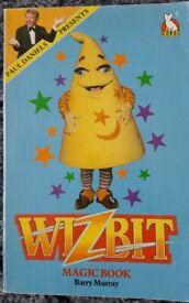 Vintage 1980's Paul Daniels Wizbit Magic Book/books – post or collect