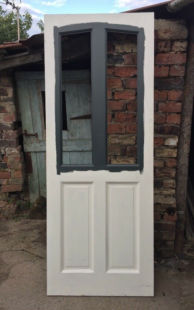 Hardwood External Door Unglazed Unused 78 X 30 In