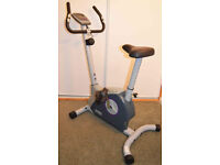 Jessica Ennis Magnetic fitness bike, pre-owned, complete with manual.