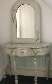 Console Table and Mirror REDUCED PRICE !!