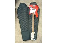 Westfield Bass Guitar with Coffin Case