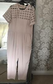 River Island Pink Jumpsuit