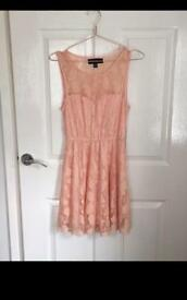 New look Pale Pink Dress, Size 10.