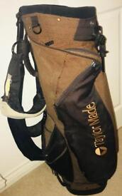 Golf clubs + bag