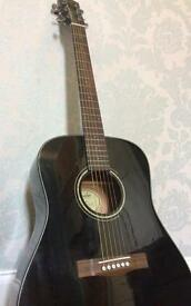 Fender guitar for sale (black) model: CD-60