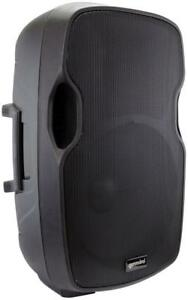 "Gemini AS-15BLU 15"" Powered Loudspeaker with Bluetooth MP3 FM tuner - Great for Parties outDoors Backyards"