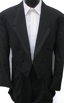 40r With Tags 6 Button Tuxedo Tailcoat Formal Wedding Pro...