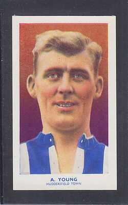 Hill - Famous Footballers (Archer) 1939 # 35 Young - Huddersfield