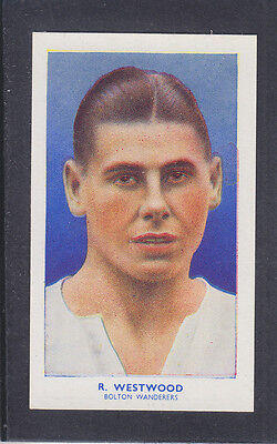 Hill - Famous Footballers (Archer) 1939 # 32 Westwood - Bolton