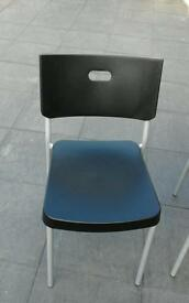 2stackable chairs £10