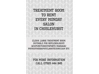 Treatment Room to Rent in Chislehurst High Street