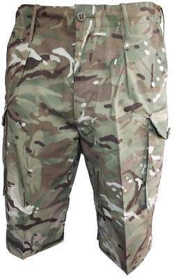BRAND NEW Genuine British Army Issue Multicam MTP COMBAT Shorts 28-30 inch waist