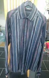Mens striped Sonetti shirt size L good condition