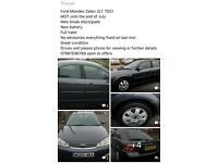 £825 ONO great running ford mondeo 12 months MOT!