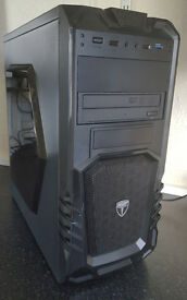 Fast PC Computer Tower Intel Core 2 Quad Q8300 2.5Ghz 4GB 160GB HDD Win 7