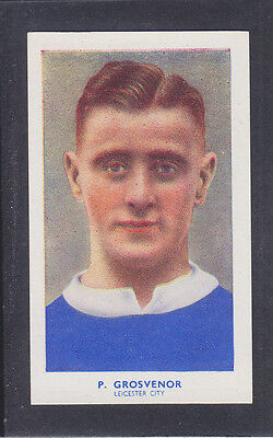 Hill - Famous Footballers (Archer) 1939 # 4 Grosvenor - Leicester