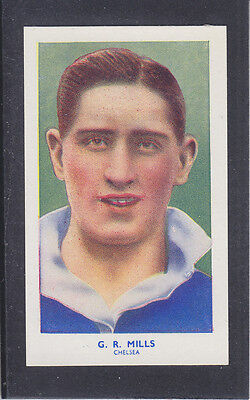 Hill - Famous Footballers (Archer) 1939 # 15 Mills - Chelsea