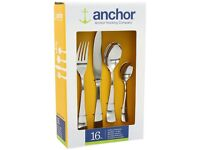 Anchor Hocking Lancaster 16 piece set Gift Boxed by Viners Brand New