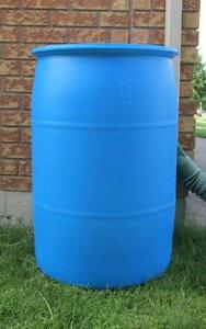 Are You Looking for Large Barrels with 2 Plugs? Cambridge Kitchener Area image 1