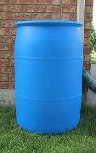BARRELS with 2 Plugs..Great for Home,Cottage or Floating Dock.