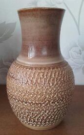 Vintage Langley/Denby Stoneware Vase.