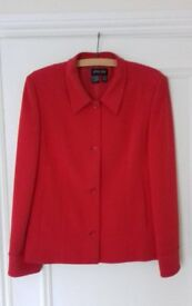 Ladies Red 'Episode' Jacket