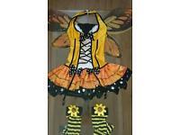 "Woman's Halloween costume, size 8-10 ""sexy bee"""