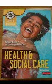 Nvq health and social care book