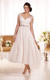 Tea Length Wedding Dress Size 12