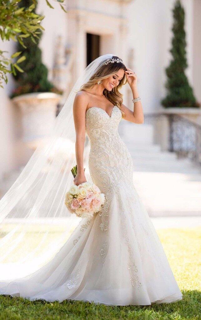 Ivory Mermaid Stella York Wedding Dress Style 6654